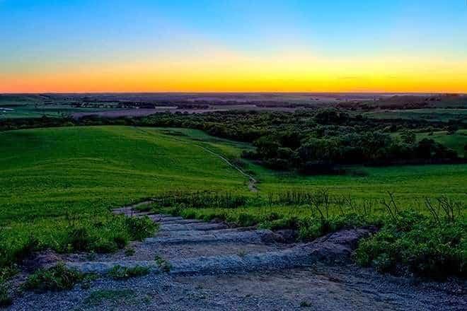 Konza Prairie, Kansas