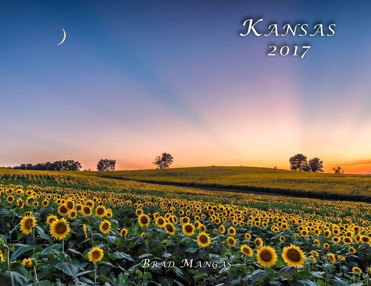 Calendar Art Ks : Kansas calendar print promotion nature
