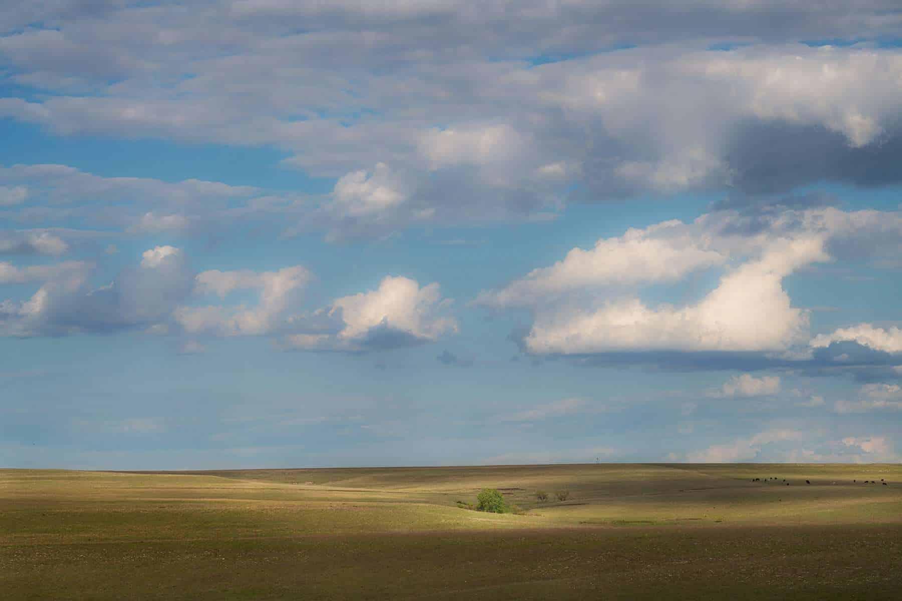 Kansas Flint Hills, - ©Brad Mangas